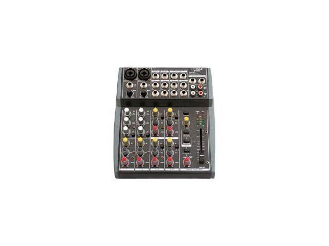 PylePro - 10 Channel Balanced Studio Grade IMP Audio Mixer with Pre-Amp