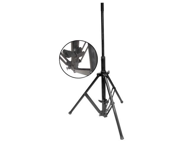 PYLE Audio - FOOT PEDAL WIND UP HEAVY DUTY TRIPOD SPEAKER STAND