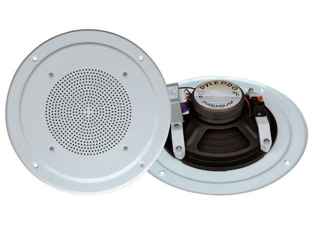 PyleHome - RBPDICS64 - 6-1/2'' Full Range In-Ceiling Speaker System W/Transformer