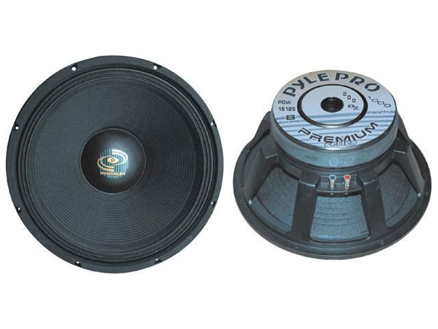 PylePro - PDW15125 - 15'' Performance Optimized High Power Subwoofer