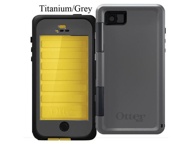 OtterBox Armor Series Waterproof Case for iPhone 5/5S - Titanium (Sun Yellow/Slate Grey) 77-31391