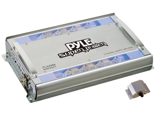2 Ch 6000 Watts Bridgeable Mosfet Amplifier
