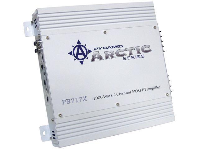 1000 Watt 2 Channel Bridgeable MOSFET Amplifier