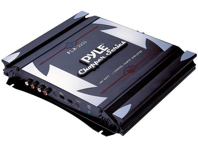 2 Channel 1400 Watt Bridgeable Mosfet Amplifier