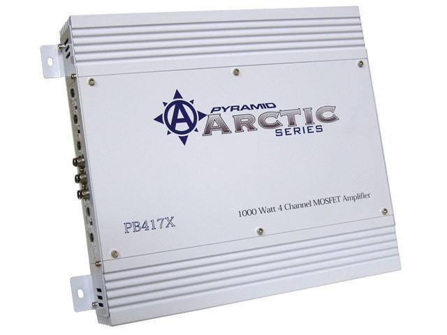 1000 Watt 4 Channel Bridgeable MOSFET Amplifier