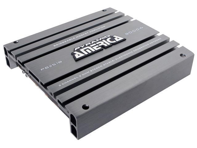 3000 Watt 2 Channel Bridgeable Mosfet Amplifier