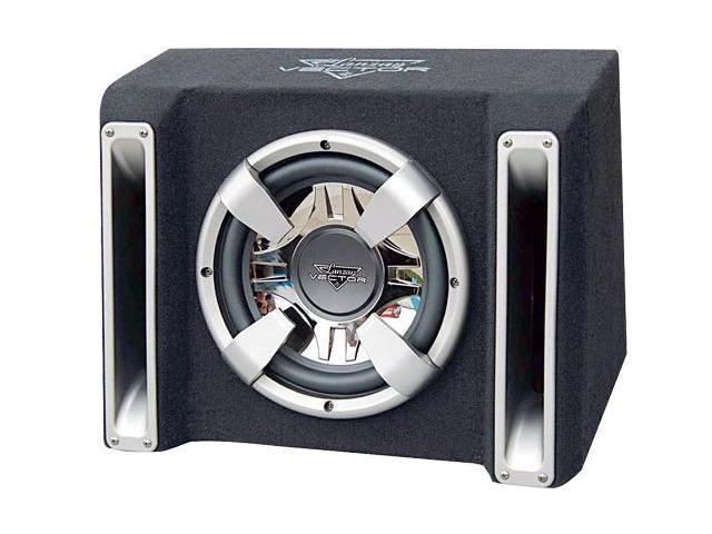 Lanzar - Vector 1200 Watt Single 12'' Slim Designed Bass Box Enclosure
