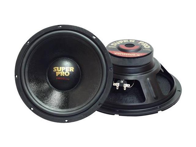 Pyramid - 10'' 500 Watt High Performance 8 Ohm Subwoofer