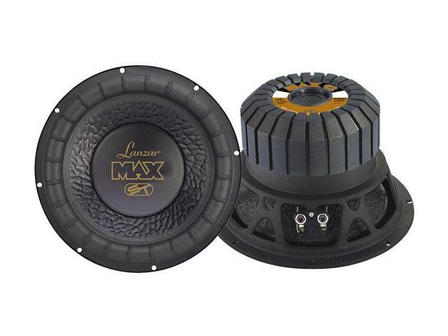 Lanzar - Max 12'' 1000 Watt Small Enclosure 4 Ohm Subwoofer