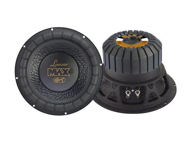 Lanzar - Max 8'' 600 Watt Small Enclosure 4 Ohm Subwoofer