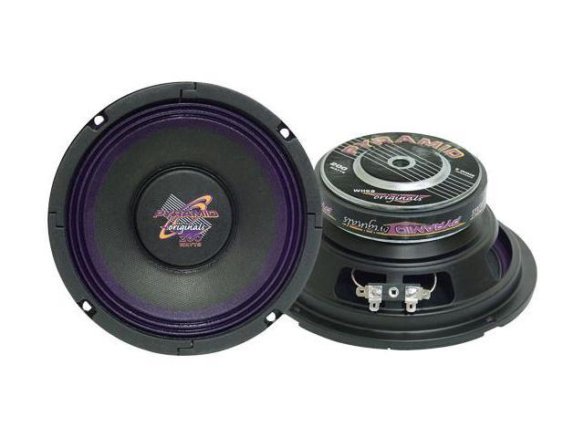 Pyramid - 6'' 200 Watt High Power Paper Cone 8 Ohm Subwoofer