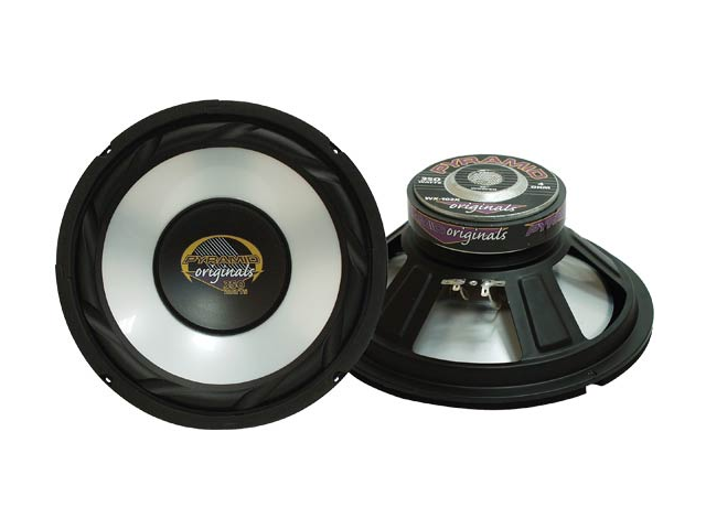 Pyramid - 12'' High Power White Injected P.P. Cone Woofer