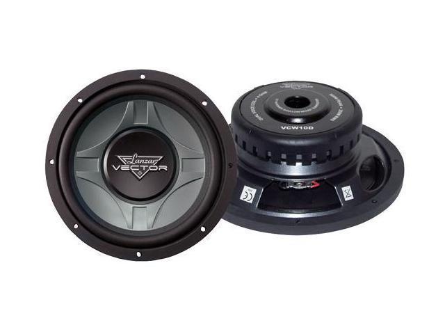 Lanzar - Vector 10'' Dual 4 Ohm Shallow Subwoofer