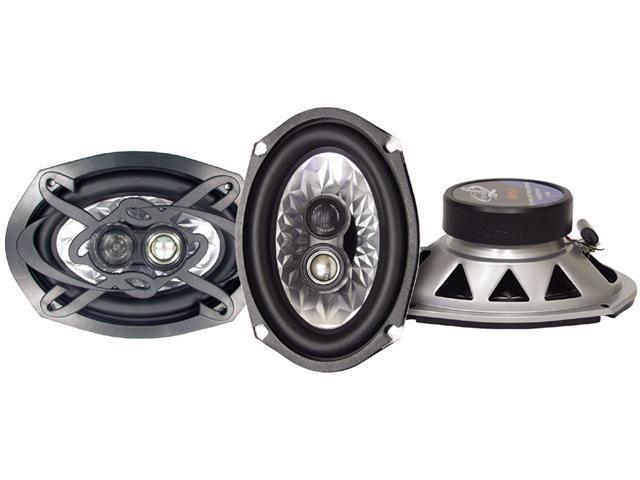 Lanzar - Heritage 6''x 9'' Three-Way Triaxial Speakers