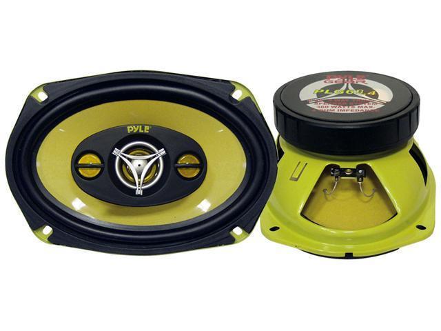 Pyle - 6'' x 9'' 400 Watt Four-Way Speakers