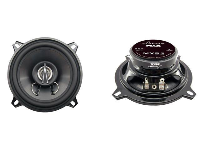 Lanzar - 5.25'' 140 Watts 2 Way Coaxial Speakers