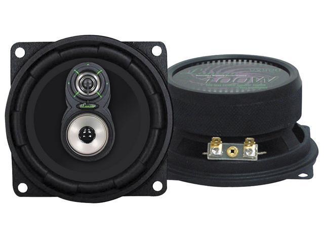 Lanzar - VX 4'' Three-Way Speakers