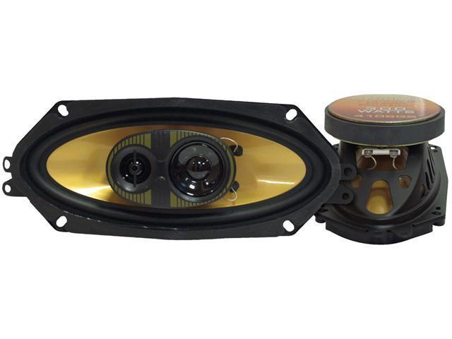 Pyramid - 4'' X 10'' 300 Watts Three-Way Speakers