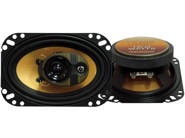 Pyramid - 4'' X 6'' 160 Watts Three-Way Speakers