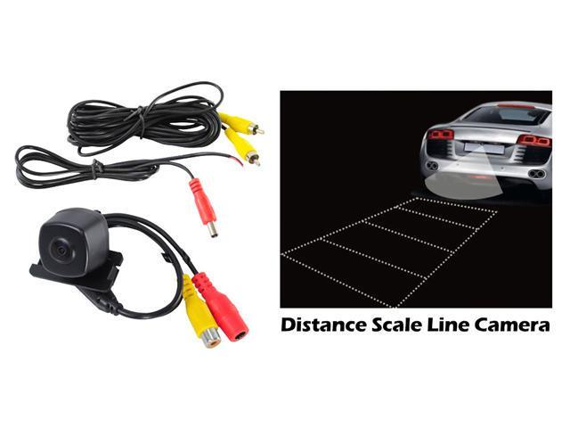 Pyle - Toyota Camry Vehicle Specific Infrared Rear View Backup Camera with Distance Scale Line