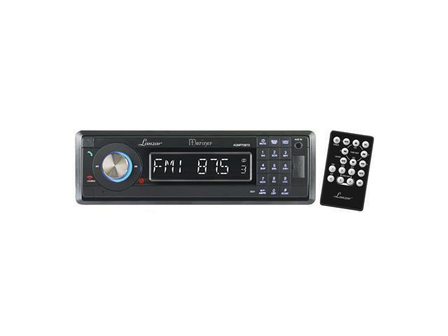 Lanzar - AM/FM-MPX In-Dash Marine Detachable Face Radio w/SD/MMC/USB Player & Bluetooth Wireless Technology