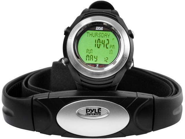 Pyle - Marathon Heart Rate Watch W/USB and Walking/Running Sensor