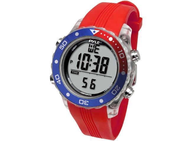 Pyle - Snorkeling Master w/ Dive Duration, Depth, Water Temp.  Max. 100 Dive Records, Dive Alarm When Emerging Too Fast (Red Color)