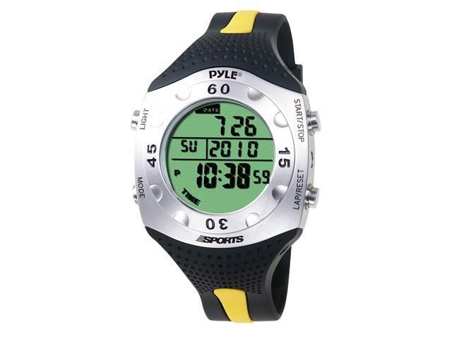 PyleHome - Advanced Dive Meter With Water Depth, Temperature, Dive Log, Auto EL Backlight