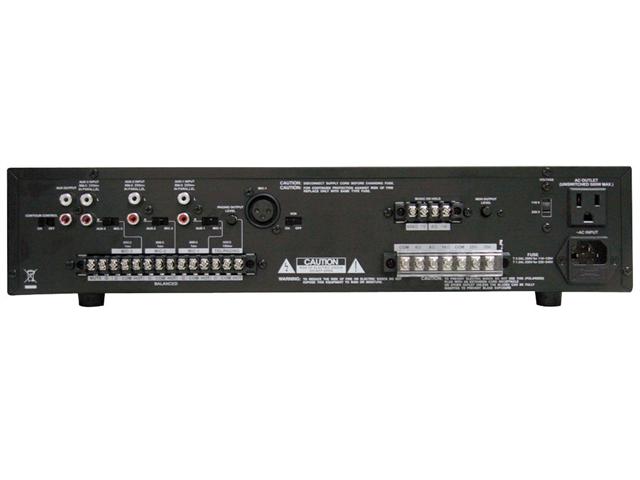 PyleHome - 100 Watt Power Amplifier w/ 25 & 70 Volt Output  (Refurbished)