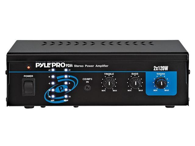 PyleHome - Mini 2x120 Watt Stereo Power Amplifier