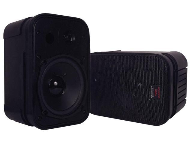 Pyramid - High Performance 400  Watt book case  Speaker System with Monitor Style Bass Reflex
