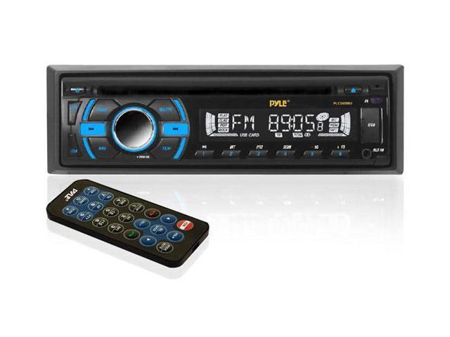 In-Dash Receiver w/ MP3 Playback, AM/FM-MPX Radio, CD Player & USB/SD/AUX Inputs