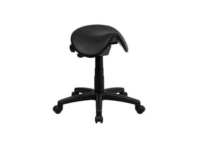 Flash Furniture Backless Saddle Stool [WL-915MG-GG]