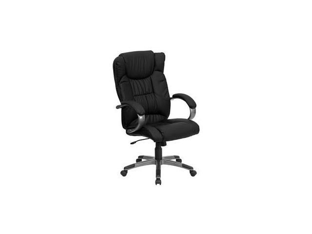 Flash Furniture High Back Black Leather Executive Office Chair [BT-9088-BK-GG]