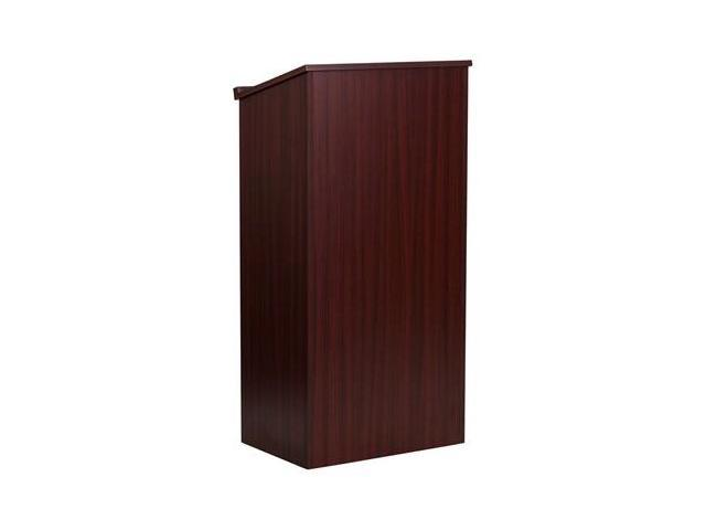 Flash Furniture Mahogany Stand-Up Lectern [MT-M8830-LECT-MAH-GG]