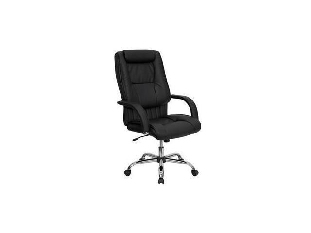 Flash Furniture High Back Black Leather Executive Office Chair [BT-9130-BK-GG] - OEM