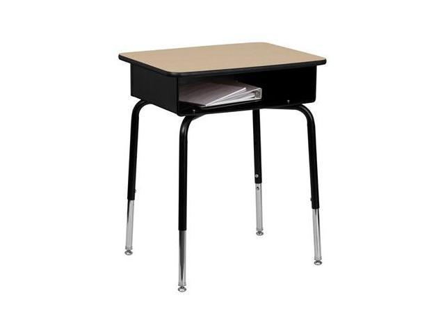 Flash Furniture Student Desk with Open Front Metal Book Box [FD-DESK-GG]