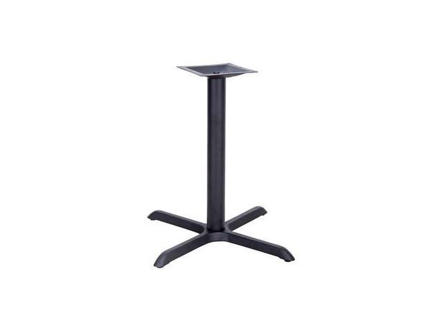 Flash Furniture 33'' x 33'' Restaurant Table X-Base with 4'' Table Height Column [XU-T3333-GG]