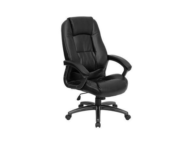 Flash Furniture High Back Black Leather Executive Office Chair [GO-7145-BK-GG]
