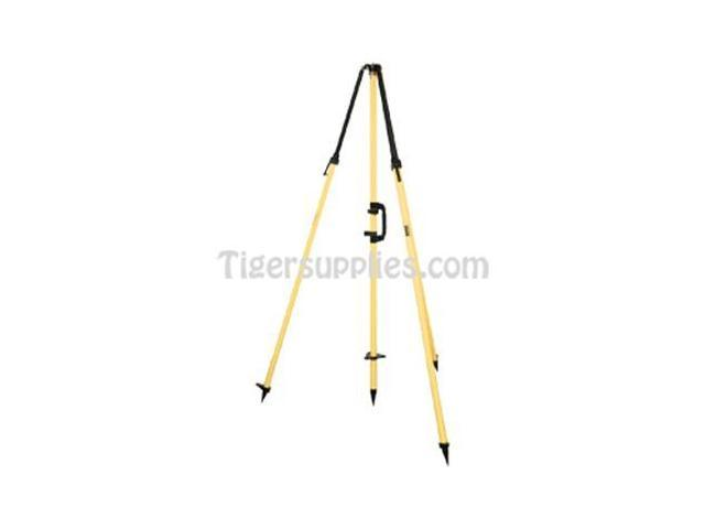 Seco Standard Fixed-Height GPS Antenna tripod,Fixed-Height Center Staff 5115-00 Yellow
