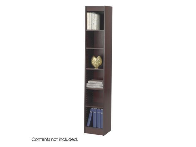 Safco 1511MHC 6-Shelf Veneer Baby Bookcase, 12