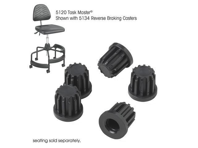Safco 5130 TaskMaster® Tubular Base Inserts 2
