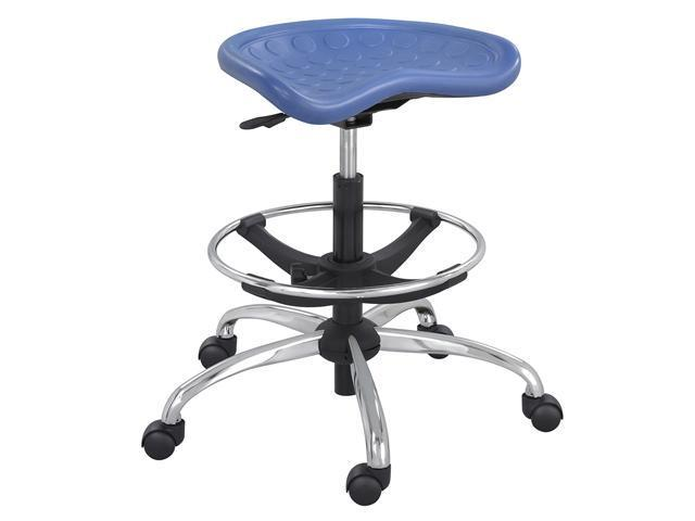 Pneumatic Stool, Blue ,Safco, 6660BU