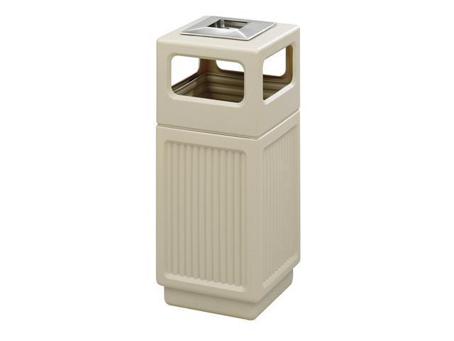 Safco 9474TN Canmeleon™ Recessed Panel, Ash Urn, Side 13 3/4
