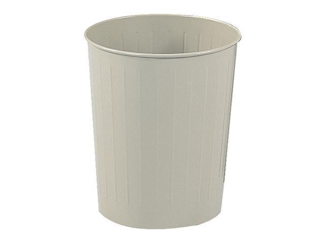 Safco 9604SA Round Wastebasket, 23-1/2 Qt. (Qty.6) 13