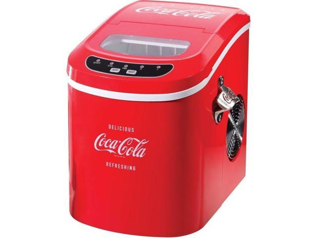 Top Countertop Ice Maker : Coca-Cola Series 26 Lb/Day Countertop Ice Maker, Portable Coke IceCube ...