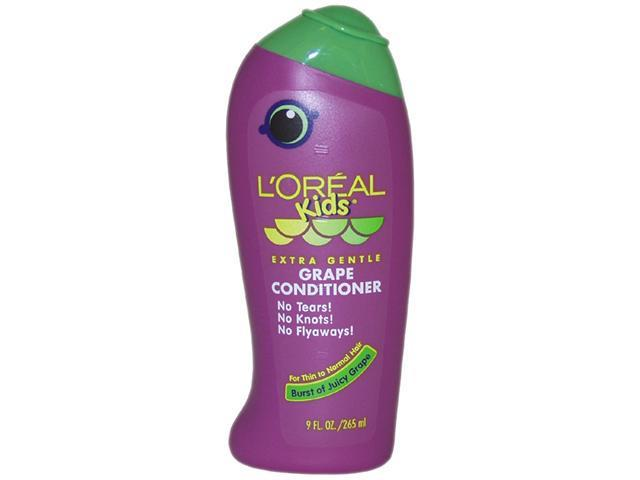 Kids Extra Gentle Grape Conditioner For Thin To Normal Hair by L'Oreal for Unisex - 9 oz Conditioner