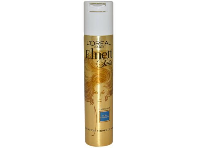 Elnett Satin Extra Strength Hair Spray by L'Oreal for Unisex - 6.7 oz Hair Spray