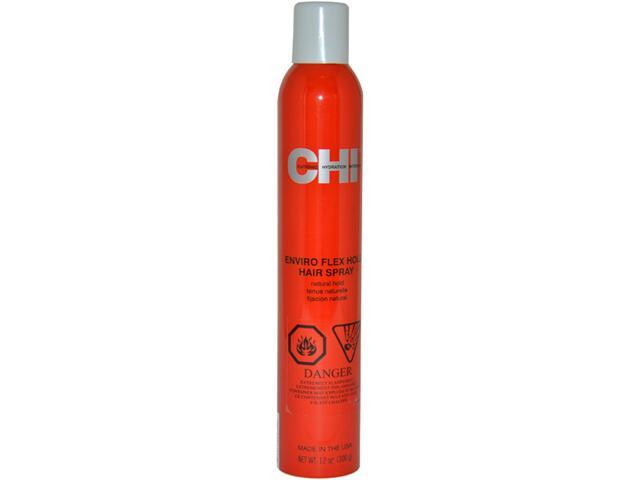 Enviro Flex Hold Hair Spray Natural Hold by CHI for Unisex - 12 oz Hair Spray