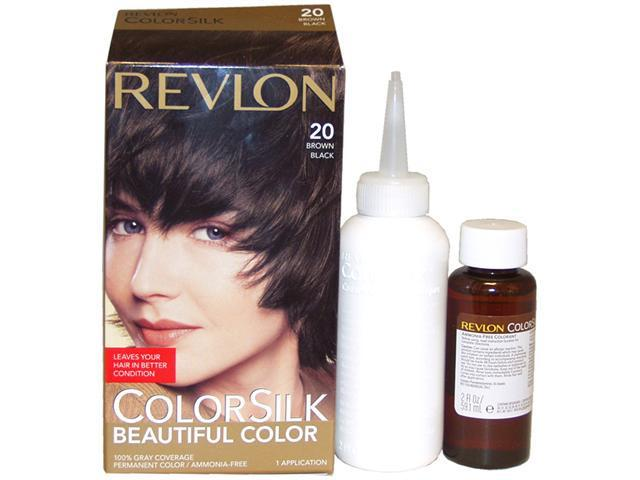 Revlon ColorSilk Beautiful Color 20 Brown Black